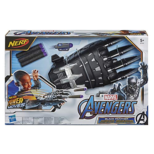 Nerf Moves Marvel Avengers Black Panther Power Slash Claw la
