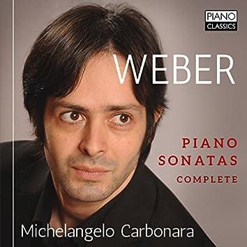 Weber: Piano Sonatas (Complete)