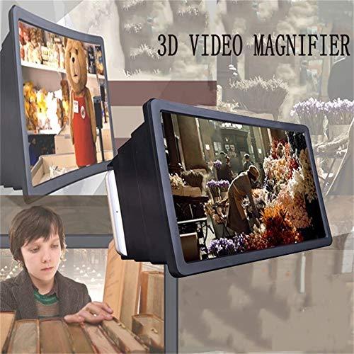 Telefoon Scherm Vergrootglas, 3D Telescopische Versterker HD Vergrootglas Op Mobiele Telefoon Scherm Telefoon Scherm Versterker Universele Gift Telefoon Houder 3D Video Vergrootglas