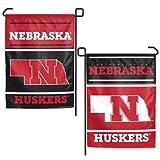 """Nebraska Huskers 11""""x15"""" Garden Flag"""