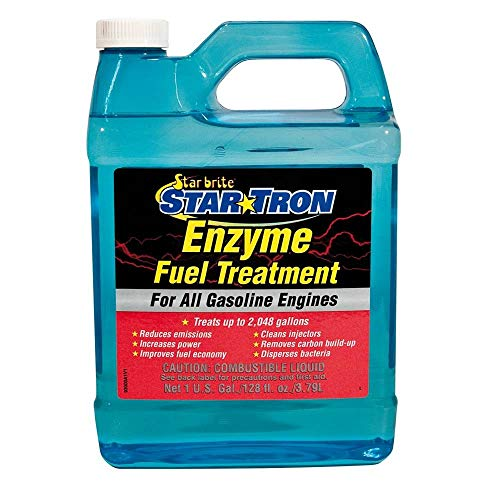 STAR BRITE 93000N Star Tron Enzyme Fuel Treatment Concentrated Gas Formula - 1 Gallon