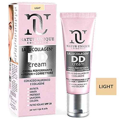 Natur Unique - Ialucollagen DD Cream - DD Cream - Light