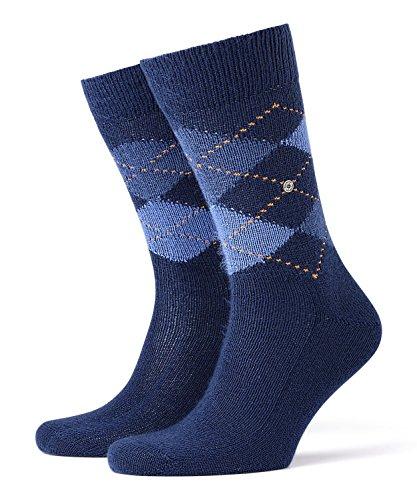 Burlington Herren Preston M SO Socken, Blickdicht, Blau (Royal Blue 6000), 40-46 (UK 6.5-11 Ι US 7.5-12)