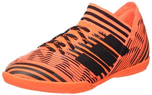 adidas Jungen Nemeziz Tango 17.3 In J Fußballschuhe, Mehrfarbig (Solar Orange/core Black/solar Red), 33 EU