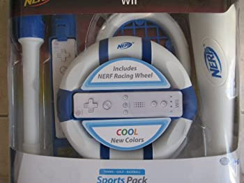 Nerf Wii Sports Pack  Colors May Vary