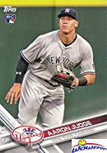 Aaron Judge 2017 Topps New York Yankees Baseball ROOKIE Card in MINT Condition in Ultra Pro Snap Holder to Protect It! Amazing ROOKIE Card of Yankees Home Run Hitting Superstars! WOWZZER!