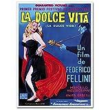 LaMAGLIERIA Hochqualitatives Poster - La Dolce Vita Vintage