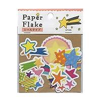 Paper Flake/ペーパーフレーク シールタイプ【スター】 APFS-04