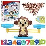 Suppyfly Singe/Cochon/Chien Jouet Balance Cool Table de Jeu de mathématiques Amusant Cadeau éducatif pour Filles garçons
