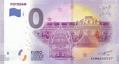 Generisch 0 Euro Schein Potsdam Schloss Sanssoucie - Null Euro Souvenir mit Verschiedenen Sehenswürdigkeiten 2020-1