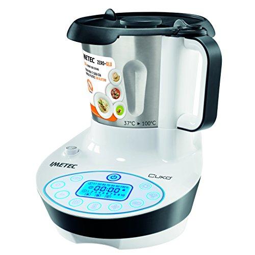 Imetec 7636 Zero Glu Cukò - Robot que cocina sin gluten, incluye libro de 130 recetas de productos...