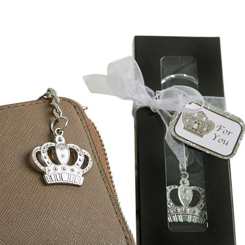 Majestic Crown Key Chain Favor (24 pieces)