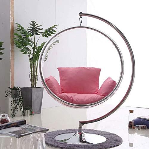 SMGPYHWYP Space Chair Schaukelstuhl, Transparenter Bubble Chair, Net Red Glass Ball Chair, Acryl Korbschaukel