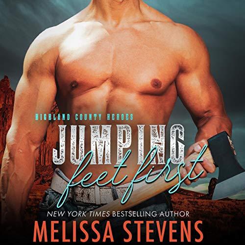 Jumping Feet First audiobook cover art