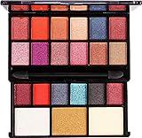 Mars 18 shade eyeshadow, 2 Highlighter, 1 Compact Powder Make-up Kits() (1)