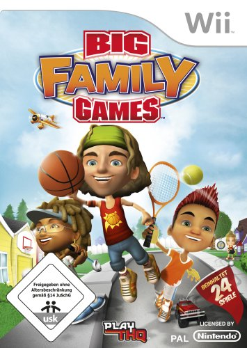 THQ  Big Family Games (Wii)