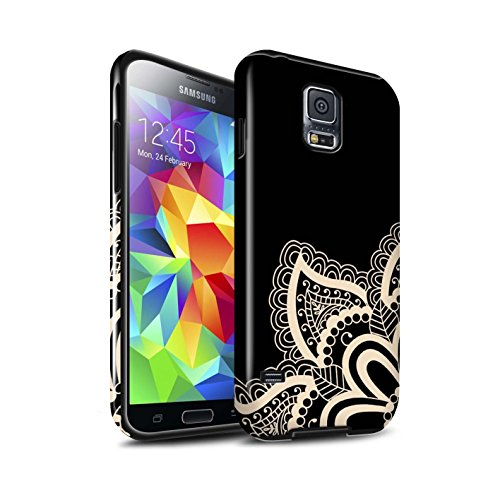 Stuff4 Glanzend Tough Shock Proof Telefoonhoesje voor Samsung Galaxy S5 Neo/G903 / Star Design/Henna Tattoo Collectie