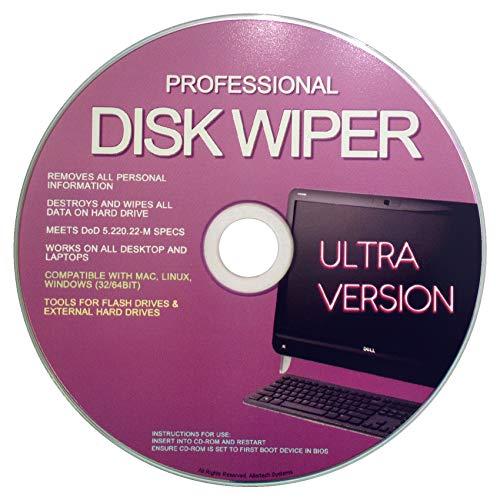 Professional Hard Disk Drive & USB Eraser - Wiper & formatter Disc 32/64Bit