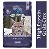 Blue Buffalo Wilderness High Protein Grain Free, Natural Adult Dry Cat Food,...