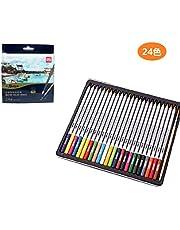 色鉛筆24色セット カラーペンシル 油性色鉛筆 塗り絵 カラーぺん 絵作り 文房具 スケッチ 寫生 落書き マンガ 美術