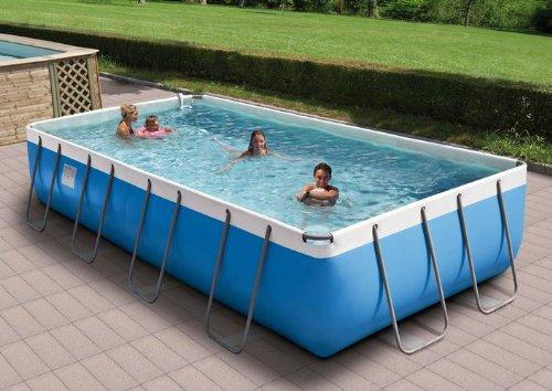 Juego de piscina Emotion Pool, 520 x 265 cm, 125 cm de profundidad + muchos accesorios