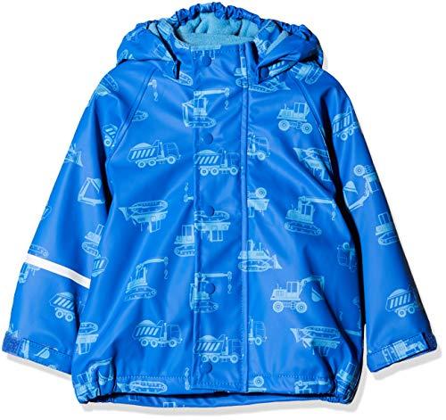 CareTec Kinder Regenjacke mit Fleece Lining, Blau (Oceanblue 706), Herstellergröße: 86