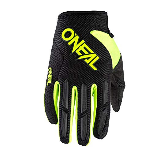 O'NEAL | Fahrrad- & Motocross-Handschuhe | MX MTB Downhill Freeride | Langlebige, Flexible Materialien, luftdurchlässige Mesh-Einsätze | Element Glove | Erwachsene | Neon-Gelb | Größe S