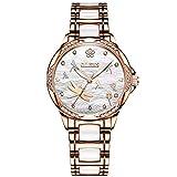 RORIOS Automatico Meccanico Orologio Donna Luminoso Orologio da Polso Shining Dial Elegant Women Watches