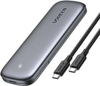 UGREEN M.2 NVME SSD hölje M Key en M/B Key USB 3.1 Gen 2 M.2 Adapter Maat 2230 2242 2260 2280 2TB Max 10Gbps UASP M.2 NVME...