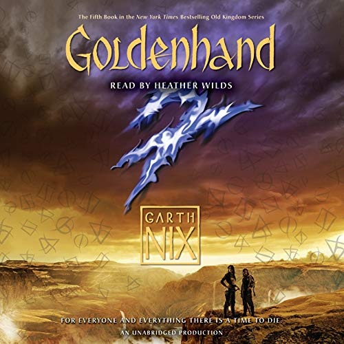 Goldenhand audiobook cover art