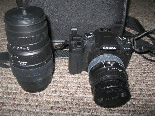 Check Out This Sigma Sa-7n SLR Film Camera