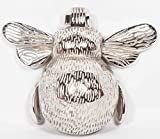 Bee Door Knocker - in Chrome or Brass - Very Realistic with Proper Wings and feet (Chrome)