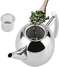 Dzbanek do herbaty ze stali nierdzewnej z sitkiem, dzbanek do herbaty ze stali nierdzewnej 1,5 litra, dzbanek + metalowy s...
