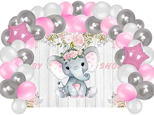 Adornos para baby shower nina _image1