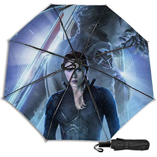 Lovesofun Portable Manual Umbrella Aven-Gers E-nd G-AME Compact Folding Business Umbrellas UV Protection Manual Tri-fold Umbrella for Men and Women