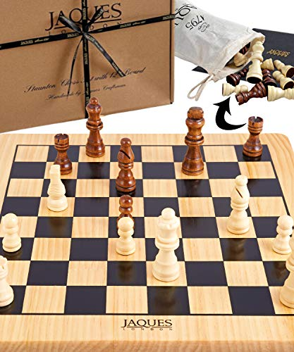 Jaques Von London Schach – Schach Holz Staunton schachspiel Holz hochwertig. Spitzenqualität seit 1795