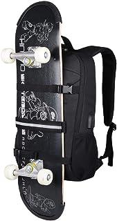 Laptop Backpack, Skateboard Backpack Basketball Rucksack with USB Charging Port, Anti-Theft Lock for Men& Women