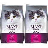 Maxi Persian Adult(+1 year) Dry Cat Food, Ocean Fish, 1.2kg (BUY 1 GET 1 FREE)