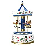 Small Foot Carillon Giostra Nostalgica Grande, Legno, Multicolore, 16.00x16.00x28.00 cm...