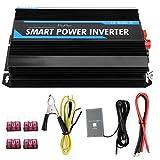 Inverter per auto Inverter per auto, 6000W 12V a 220V Trasformatore di tensione per inverter a tensione sinusoidale pura