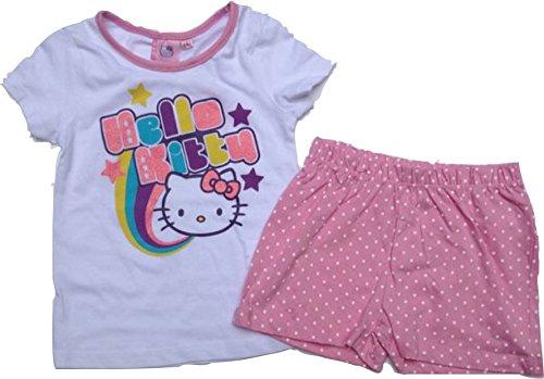 Hello Kitty Traje de color rosa