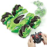 SUPERHIGH Remote Control Car for Boys, RC Stunt Cars Double Sided 360°Rotating 45°Drift, 4WD,...