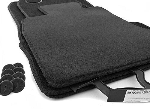Tapis de sol pour bMW série 5 f10 f11 xDrive (allroad) mats velours auto original qualité 4 parties noir