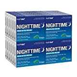 HealthA2Z Nighttime Cold-Flu Relief, Compare to Nyquil Active Ingredient, 24 Packs of 8 Softgels(192 Softgels Total), Value Package