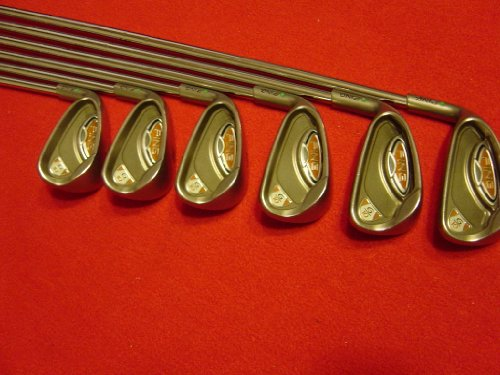 Ping G10 Irons 5-PW Green Dot Stiff Flex Steel Shafts Golf Clubs