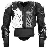 Bohmberg Armatura Moto Protezione di Motocross Giacca Moto Corpo Armatura Indumenti di Protezione Completa Moto Professionale Sportivo per Uomo Adulto Spina Dorsale Tuta da Motociclista