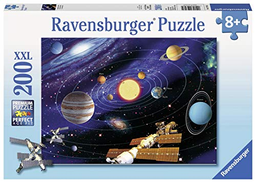 Solar System Jigsaw Puzzle for Kids