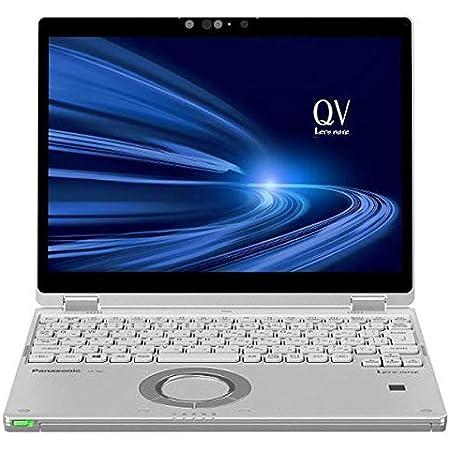 パナソニック ノートパソコン Let''s note QVシリーズ シルバー CF-QV9HDGQR