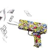 baigaobin Geld Pistole Mode Rosa Spielzeug Geburtstagsfeier Spielzeug Spiel Cash Cannon Lustige Pistole