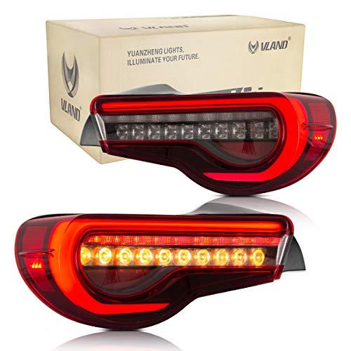 VLAND LED Montaje de luces traseras para FT86 GT86 2012-2019 BRZ 2013-2018 Luz de la cola con dinámica